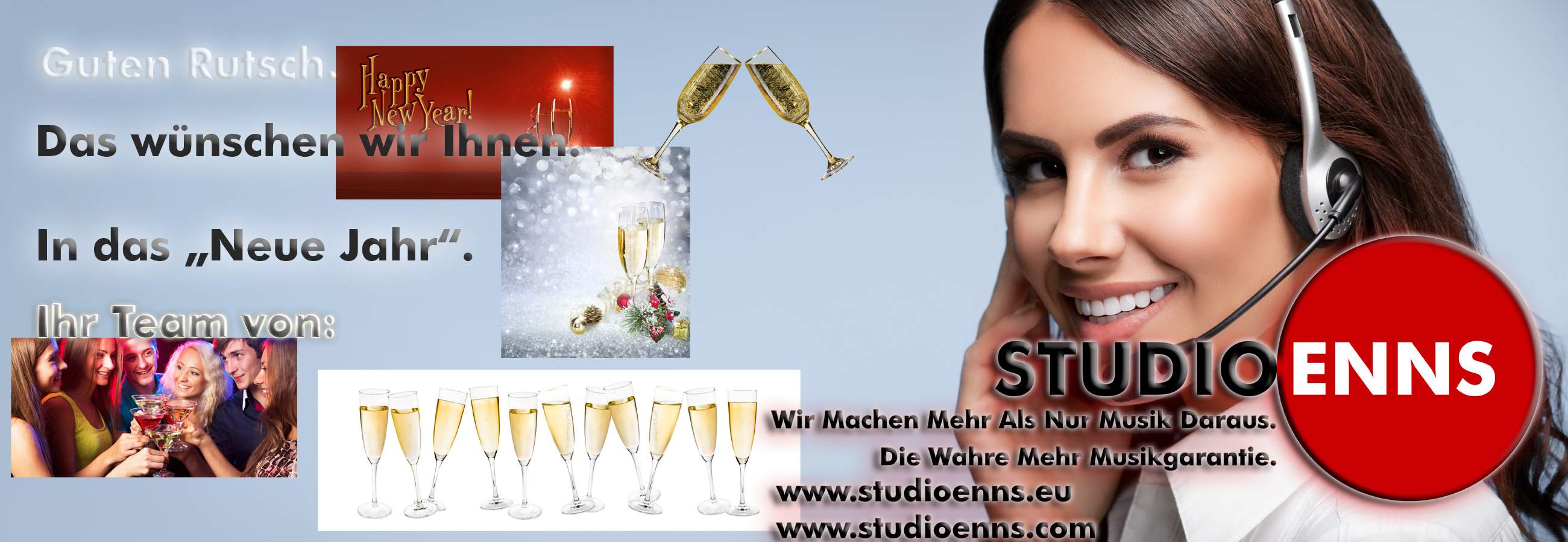 Studio Enns zu Silvester